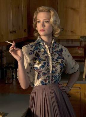Use o figurino da série americana Mad Men