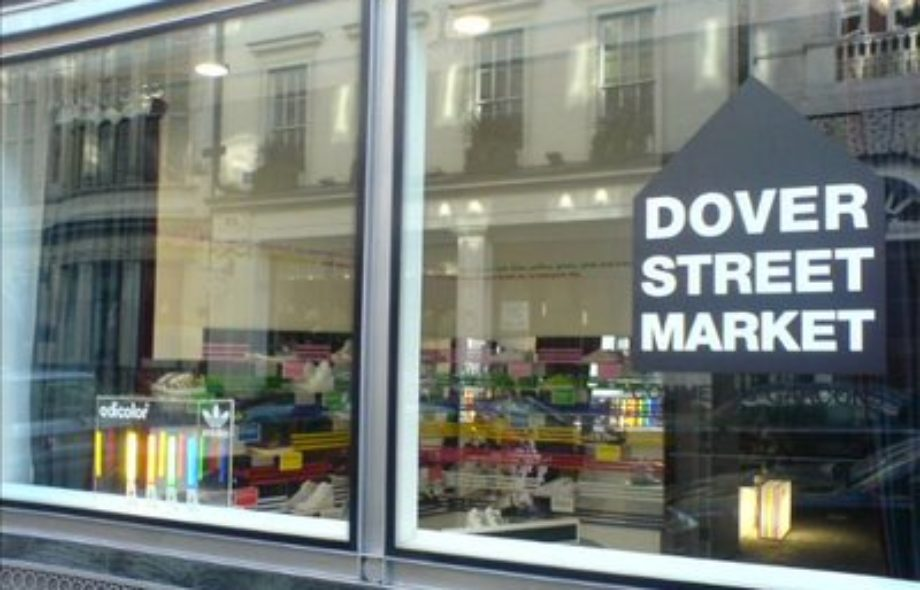 Blogging from London – Dover Street Market