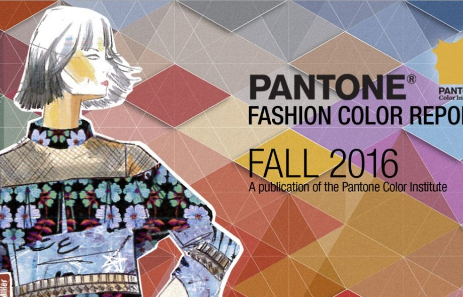 Trend Alert – As cores do Outono 2016 da Pantone