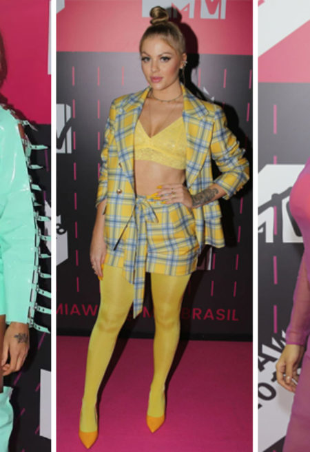 Looks MTV MIAW 2018 – As escolhas dos famosos no Pink Carpet