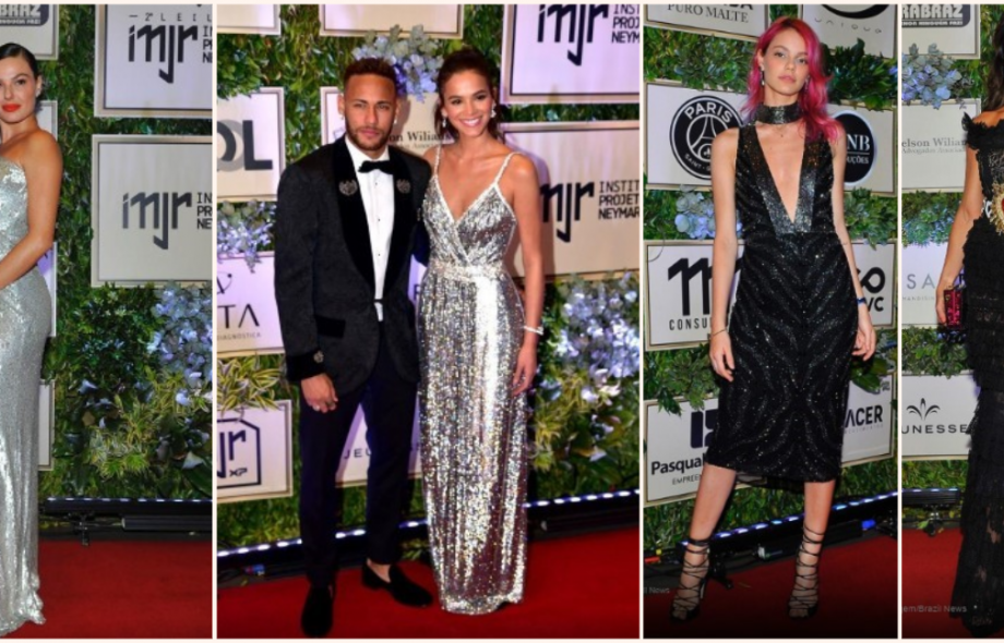 Vestidos de Festa – Famosas brilham no leilão beneficente do Instituto Neymar Jr
