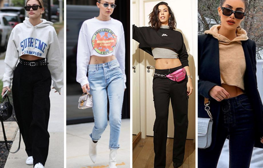 Moletom cropped: Queridinho das celebs é hit do Inverno 2019 – #lookdodia
